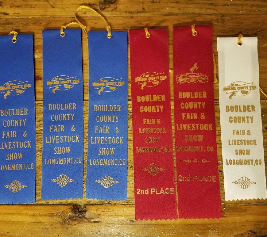 contest ribbons