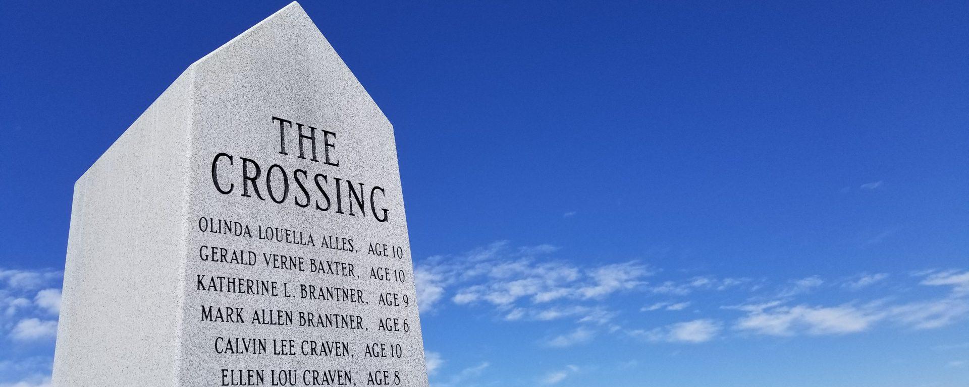 The Crossing memorial