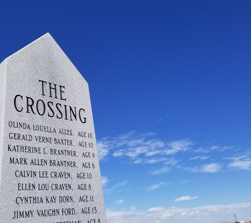 The Crossing memorial