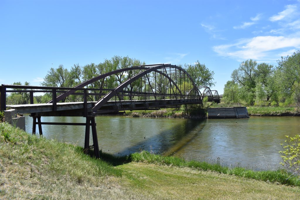 Bridge over the North Platte River